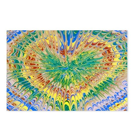 Hippie Heart Postcards (Package of 8)