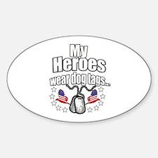 my heroes wear Decal