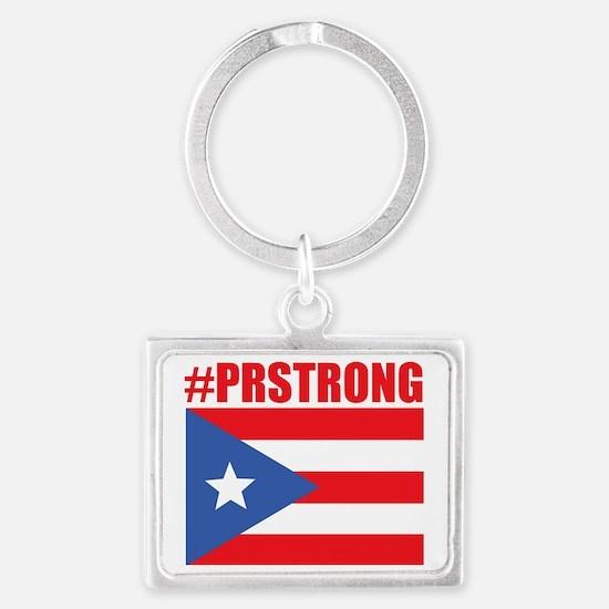 Funny Puerto rico Landscape Keychain