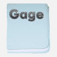 Gage Metal baby blanket