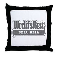 WB Grandpa [Polish] Throw Pillow