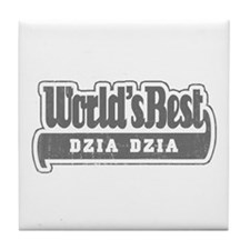 WB Grandpa [Polish] Tile Coaster