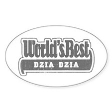WB Grandpa [Polish] Oval Decal