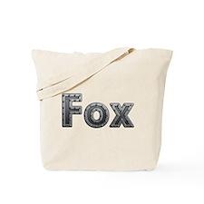 Fox Metal Tote Bag