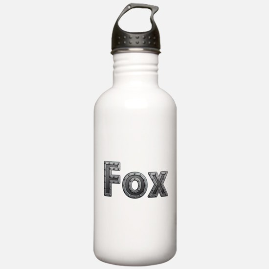 Fox Metal Water Bottle