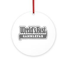WB Grandpa [Norwegian] Ornament (Round)