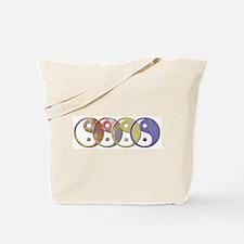 Yin Yang mix Tote Bag