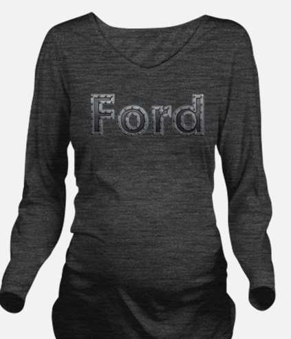Ford Metal Long Sleeve Maternity T-Shirt