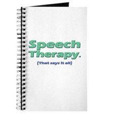 Speech Therapy Says It All Journal