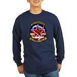 VAQ 34 Flashbacks Long Sleeve Dark T-Shirt