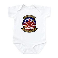 VAQ 34 Flashbacks Infant Bodysuit