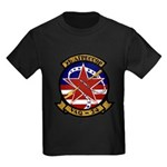 VAQ 34 Flashbacks Kids Dark T-Shirt