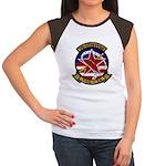 VAQ 34 Flashbacks Women's Cap Sleeve T-Shirt