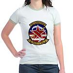 VAQ 34 Flashbacks Jr. Ringer T-Shirt