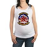 VAQ 34 Flashbacks Maternity Tank Top