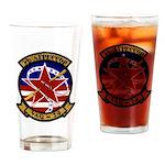 VAQ 34 Flashbacks Drinking Glass