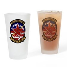 VAQ 34 Flashbacks Drinking Glass