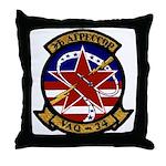 VAQ 34 Flashbacks Throw Pillow