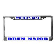 Drum Major License Plate Frame