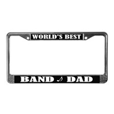 Band Dad License Plate Frame