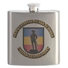 SSI - Army National Guard Schools With Text Flask