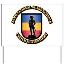 SSI - Army National Guard Schools With T Yard Sign