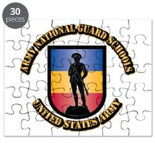 SSI - Army National Guard Schools With Text Puzzle