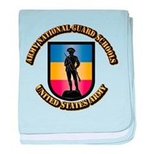 SSI - Army National Guard Schools Wit baby blanket