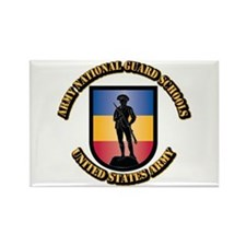 SSI - Army National Guard Schools Rectangle Magnet