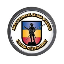 SSI - Army National Guard Schools With Wall Clock