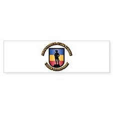 SSI - Army National Guard S Bumper Sticker
