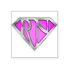 Super RN - Pink Rectangle Sticker