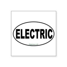Electric Euro Sticker