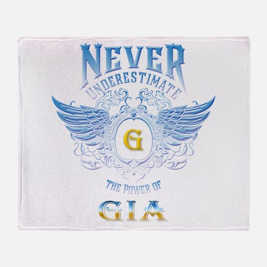 gia Throw Blanket