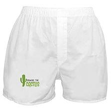 Beware The Cactus Boxer Shorts