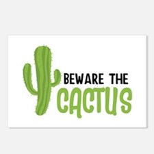 Beware The Cactus Postcards (Package of 8)
