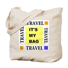 Travel - Its My Bag Tote Bag