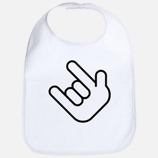 Thizz Hand Sign Bib