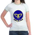 VAQ 128 Fighting Phoenix Jr. Ringer T-Shirt