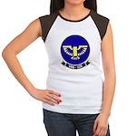 VAQ 128 Fighting Phoeni Women's Cap Sleeve T-Shirt