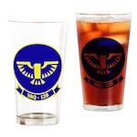 VAQ 128 Fighting Phoenix Drinking Glass