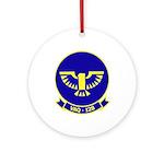 VAQ 128 Fighting Phoenix Ornament (Round)