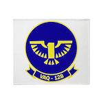VAQ 128 Fighting Phoenix Throw Blanket