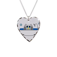 Owl in Tub Necklace