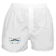 Owl in Tub Boxer Shorts