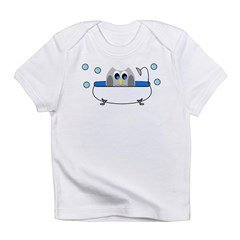 Owl in Tub Infant T-Shirt