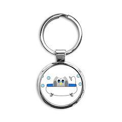 Owl in Tub Keychains