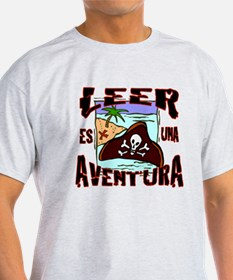 Reading is an Adventure SPANISH T-Shirt