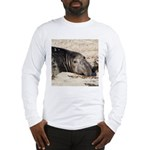 Northern Elephant Seal Long Sleeve T-Shirt