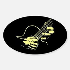 guitar-hands2-col-red-T Decal